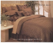 Copper Brown Roundabout Duvet 5/7 PC Set