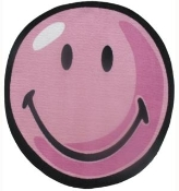 Smiley World Round Rug