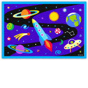 Olive Kids Out Of This World Printed Rug