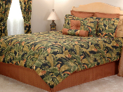 Green, Brown Kokomo Comforter Bedding Sets
