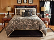 Veratex Alamosa Black/Tan Comforter Set