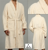 Ivory Unisex Terry Bath Robe
