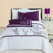Spring Valley Embroidered Multi-Piece Duvet Cover Set