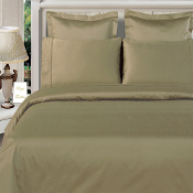 Sage Green Bamboo  Duvet Cover Set