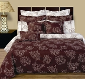 100% Egyptian cotton Cloverdale Bedding made with 400 Thread count