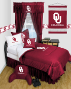 Oklahoma Sooners Locker Room Sports Bedding Collection