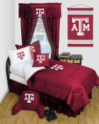 Texas A&M Aggies Locker Room Sports Bedding Collection