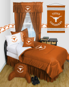Texas Longhorns Locker Room Sports Bedding Collection