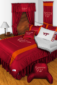 Virginia Tech Hokies Sideline Room Sports Bedding Collection
