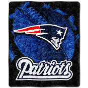 New England Patriots NFL Sherpa Throw