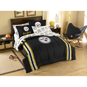 Pittsburgh Steelers NFL Embroidered Comforter Twin/Full