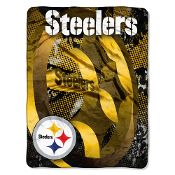 Pittsburgh Steelers NFL Micro Raschel Throw