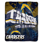 San Diego Chargers NFL Micro Raschel Throw