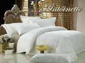 Antoinette White Duvet Cover 6 Pieces Luxury Duvet Cover Set