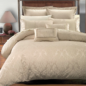 Beige Sara Hotel Collection Duvet Cover Set