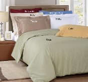 Luxury Duvet Cover Sets Solid 1000 TC  Egyptian Cotton