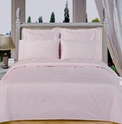 White Solid Down Alternative 4-pc Comforter Set