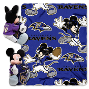 Baltimore Ravens NFL Mickey Mouse with Throw Combo