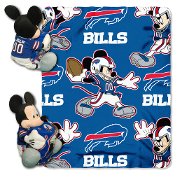 Buffalo Bills NFL Mickey Mouse with Throw Combo