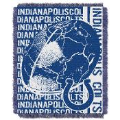 Indianapolis Colts NFL Triple Woven Jacquard Throw