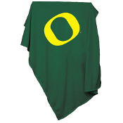 Oregon Ducks NCAA Sweatshirt Blanket Throw