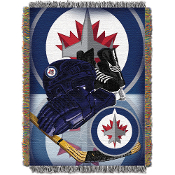 Winnipeg Jets NHL Woven Tapestry Throw
