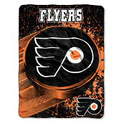 Philadelphia Flyers NHL Micro Raschel Throw (46in x 60in)