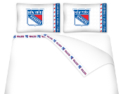 New York Rangers NHL Sheet & Pillow Set