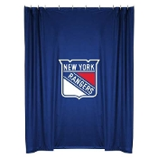 "New York Rangers NHL Shower Curtain (72""x72"")"