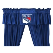 "New York Rangers NHL Valance (88""x14"")"
