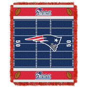 New England Patriots NFL Triple Woven Jacquard Throw