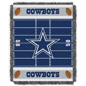 Dallas Cowboys NFL Triple Woven Jacquard Throw