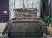 Gatlinburg  Brown Comforter Sets