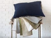 Mandalay Linen Duvet Cover Collection by Peacock Alley