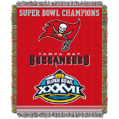 Tampa Bay Buccaneers NFL Super Bowl Commemorative Woven Tapestry
