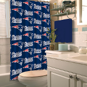 L fabric shower curtain measuring 72 x 72 inches