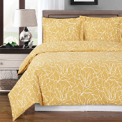 Beige White Emma Duvet Cover Set