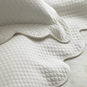 Oxford  Diamond Coverlet by Peacock Alley