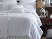 Biscayne Quilted Matelassé Coverlet Collection by Peacock Alley