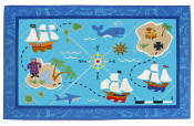 Olive Kids Pirates Printed Rug