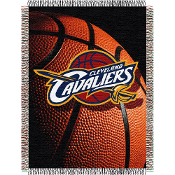 Cleveland Cavaliers NBA Woven Tapestry Throw Blanket