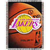 Los Angeles Lakers NBA Woven Tapestry Throw Blanket