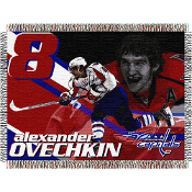 Washington CapitalsAlexander Ovechkin #8  NHL Woven Tapestry