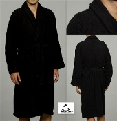 BlackTerry Bath Robe