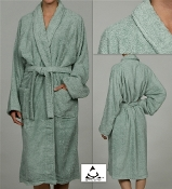 Sage Unisex Terry Bath Robe