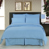 Blue 8-Piece Duvet Cover Set