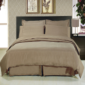 Taupe 8 Piece Duvet Cover Set