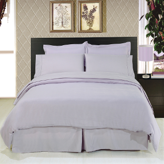 Lilac 8 Piece Duvet Cover Set