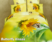 butterfly themed bedding will create a fresh spring like look for your bedroom decor all year round.