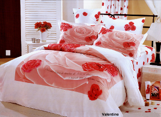 Valentine Twin 4PC Duvet Cover Set